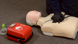 Cardiac Arrest Management AED Skill - EMT