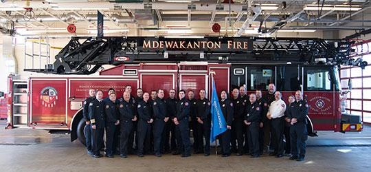 Shakopee Tribe unveils first-of-its-kind fire truck in the country